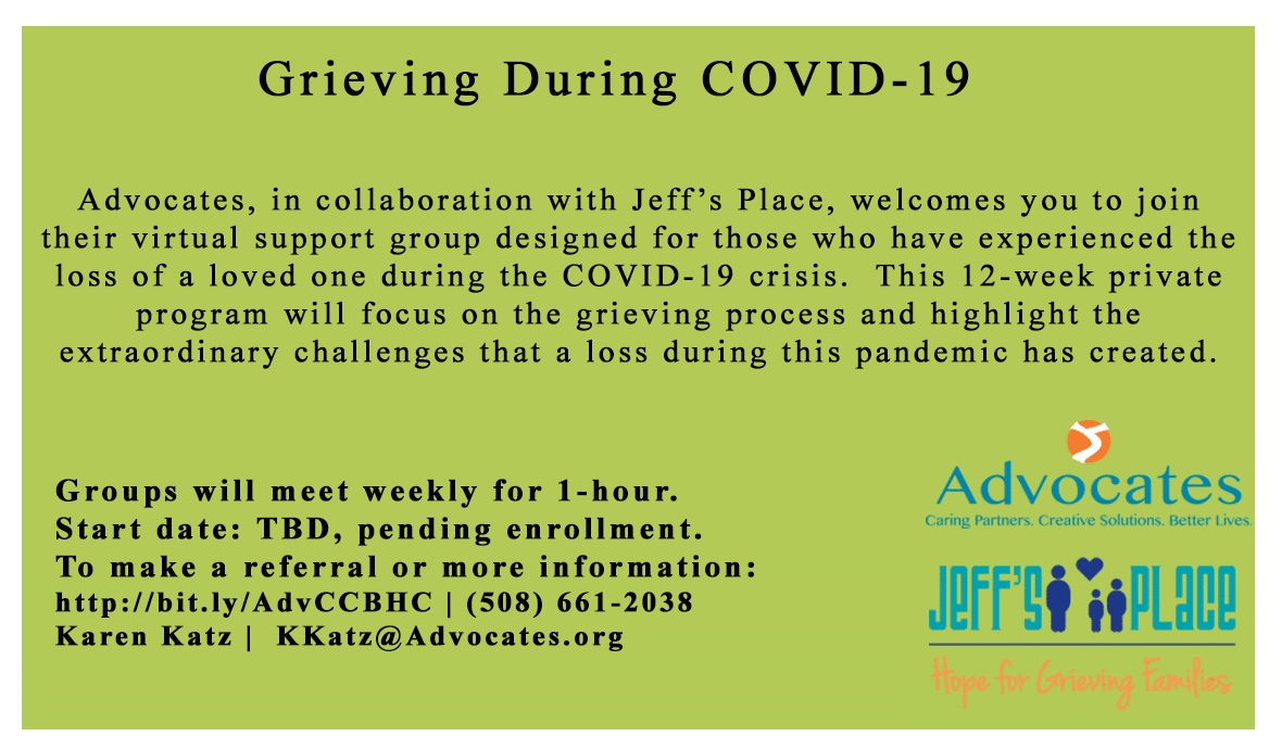 Covid Grief Support Group